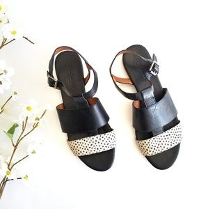 Madewell | Danny Strappy Leather Sandals 8